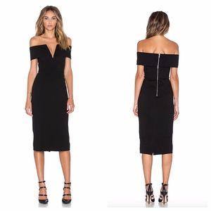 N/Nicholas Bardot Off The Shoulder Dress